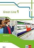 Green Line 1. Ausgabe Bayern: Workbook mit 2 Audio-CDs 5. Klasse (Green Line. Ausgabe für Bayern ab 2017)