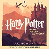 Harry Potter und der Orden des Phönix - Gesprochen von Rufus Beck: Harry Potter 5