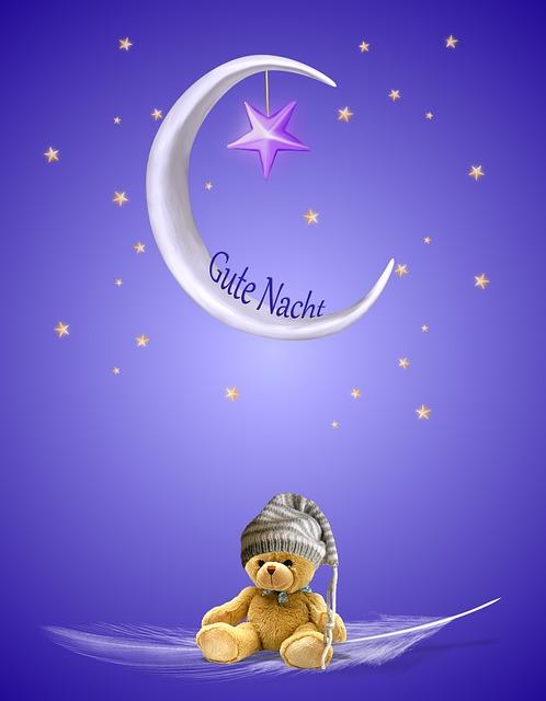 Gute nacht wünsche bilder